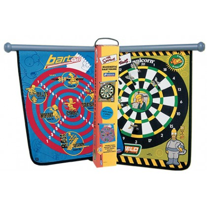 Simpsons Magnetic Dart Game